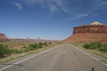 Straße zu den Canyonlands