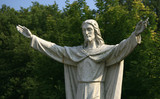 Statue of Christ poster