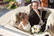 mariés dans la voiture 2