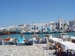 parikia paros island greece