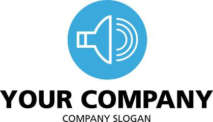logo mit Ton, Musik Icon