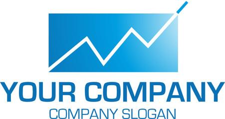 logo mit aktienkurs