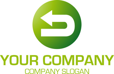 Logo mit Pfeil