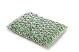 series object on white - Green sponge poster