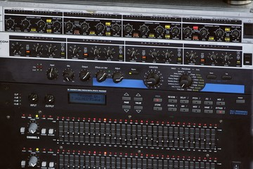 Sound mixer and equalizer
