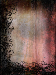 Dark and dirty grunge style background