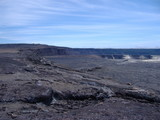 One of the Larger Craters of Kilauea Volcano - Hawaii