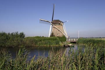 A typical dutch windmill