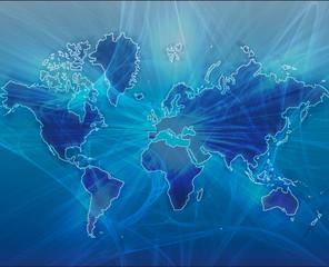 Map Blue