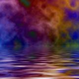 Psychedelic Ocean poster
