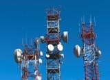 antenna ripetitore segnale elettromagnetico poster