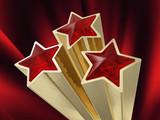 three ruby stars poster