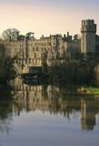 warwick castle warwickshire  poster