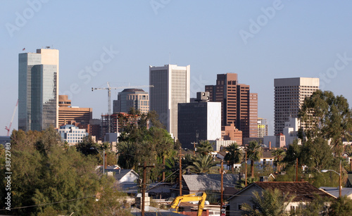 Skyscrapers in Downtown of Phoenix, AZ