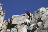 Rappelling of the summit of Granite Peak poster