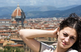 Russian Girl in Florence poster
