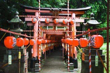 Fushimi Inari temple in Kyoto, Japan