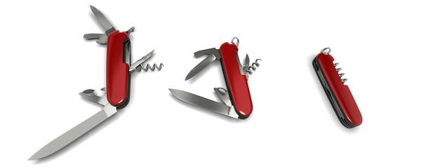 trois couteaux suisses