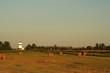 Fields and grain elevator