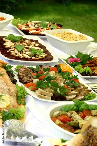 In de dag Buffet, Bar Delicious platters