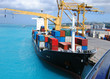 Cargo ship loaded with containers - 3882564