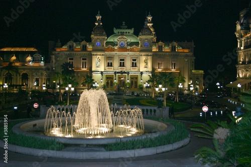 Leinwanddruck Bild Monaco