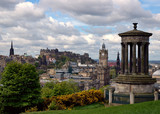 Panorama of Edinburgh (summertime view) - Fine Art prints