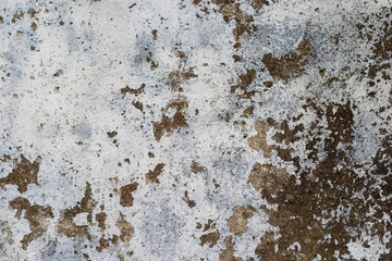 Rusty and scraped up wall, grunge background