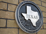 Texas Historical Seal poster