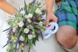 Typical scottish wedding, outlet, wedding bouquet