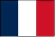 Drapeau français avec bordure