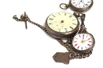 Antique Silver Watches