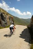 Le coureur cycliste poster