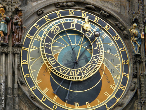 Ancient watches. Prague. - 3899709