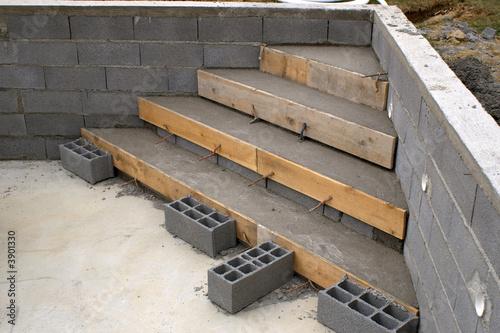escaliers maçonnés