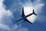 passenger airliner poster