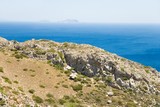 A photo of typical Cretan scenery, Greece poster