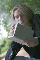 lecture au parc 44