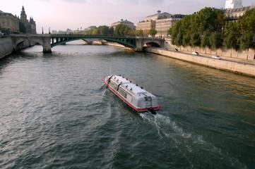 Boat on Sena river