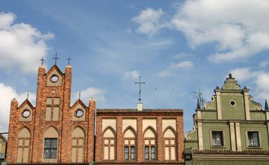Hausfassaden in Poznan