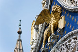 The Venetian lion poster