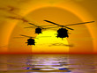 illustration of american navy,army helicopter, blackhawk