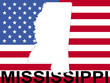Mississippi on American flag
