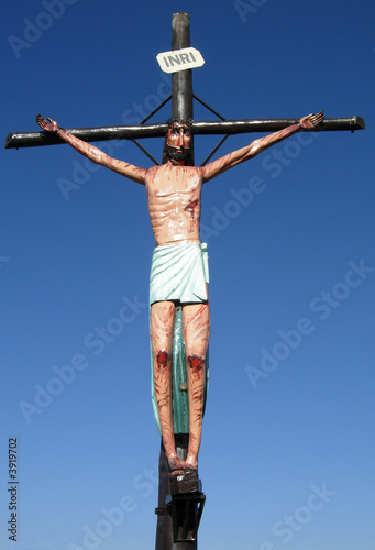Wooden Statue of Christ