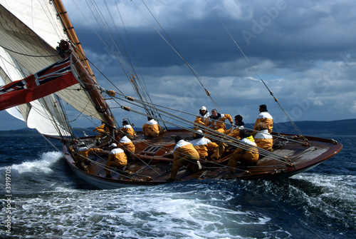 Foto op Canvas Zeilen The Lady Anne / Fife Regatta / Schottland