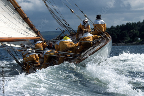 canvas print picture Fife Regatta / Schottland / The Lady Anne