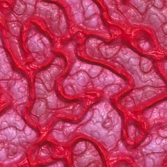 Organic matter with veins