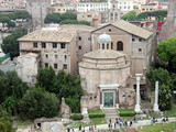 Basilica Saints Cosma and Damiano in the Roman Forum  poster