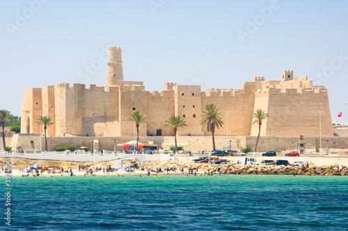 In de dag Tunesië The Ribat in Monastir