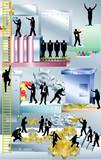 Business machine Conceptual piece poster